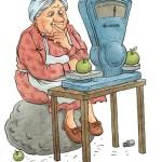 Бабка-Весы:)