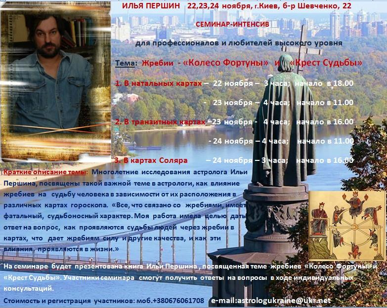 Анонс Першин Киев