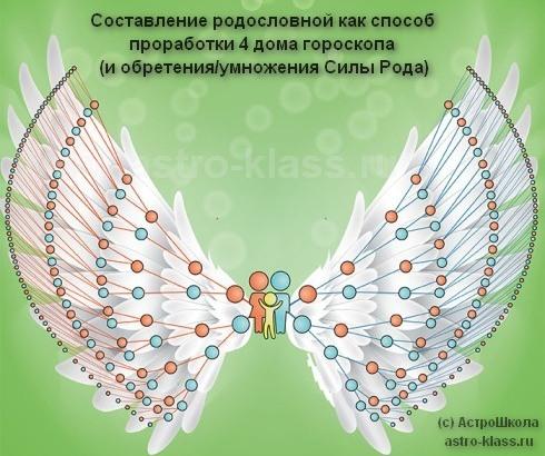 Крылья нашего Рода - 7 поколений предков